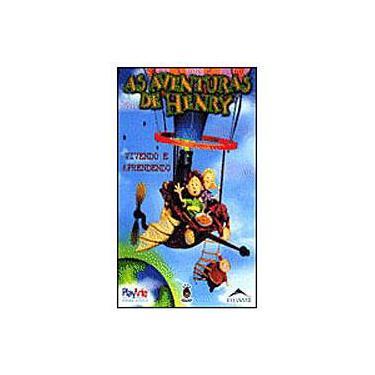 VHS As Aventuras de Henry - Vivendo e Aprendendo Vol. 2
