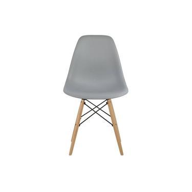 Cadeira Charles Eiffel Eames Fortt Cinza - FT-18090