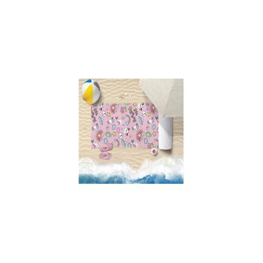 Imagem de Toalha De Praia 60Cm X 1,10M Infantil Anti Areia Festa - Bene Casa