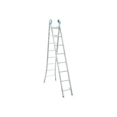 Escada Extensiva 14 Degraus Aluminio - Alumasa