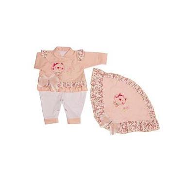 Saída De Maternidade Menina Ref.4227