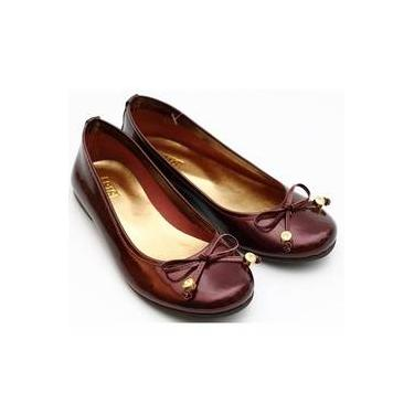 Sapato Laço Ponteira Stras