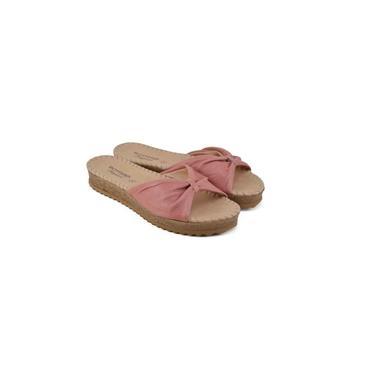 Tamanco Feminino Bottero Couro Summer Burnish Coral - 3225