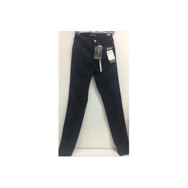 Calça Lunender Feminino Jeans Escuro Skinny 47625