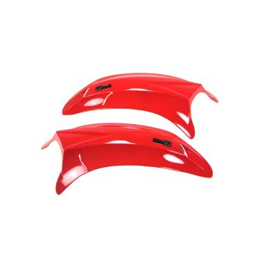 Entrada De Ar Superior Texx Vermelho Capacete Mod. Silver Ea