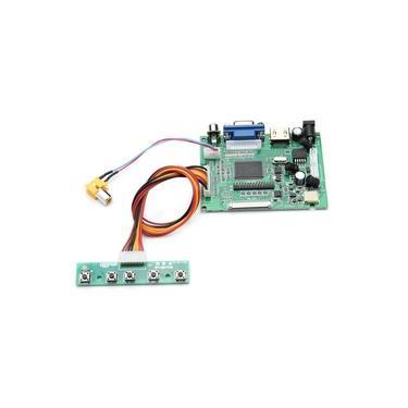 Placa de driver de exibição de LCD universal para PS2 para PS3 para xbox360 HD AV VGA