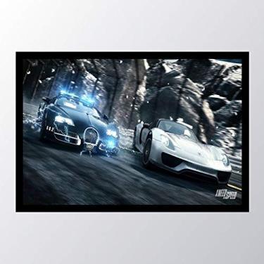 Quadro com moldura Need For Speed Rivals_009