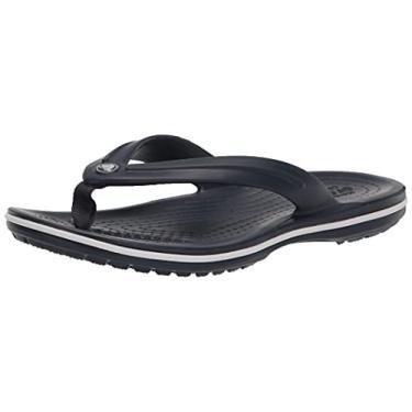 Imagem de Chinelo Crocband Flip, Crocs, Adulto Unissex, Navy, 33