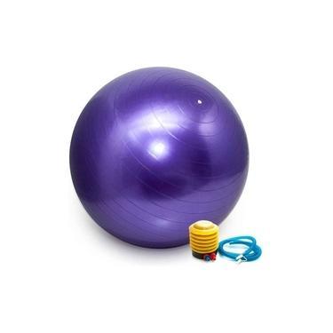 Imagem de Bola Suiça Pilates Yoga Abdominal Fitness 65cm com Bomba