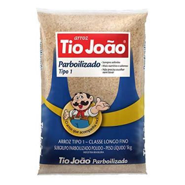 Arroz Tio João Parbolizado - 1kg