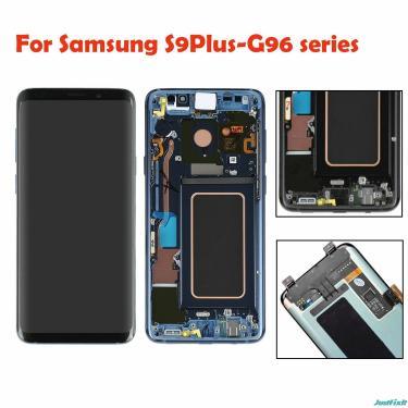 Original super amoled para samsung galaxy s9plus s9 plus g965f g965u display lcd de toque digitador