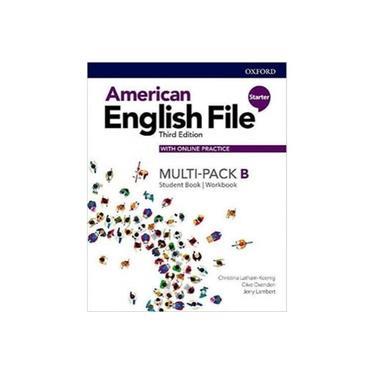 Imagem de American English File Starter B - Multipack With Online Prac