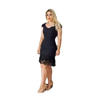 Vestido Feminino com Renda Roupas Femininas