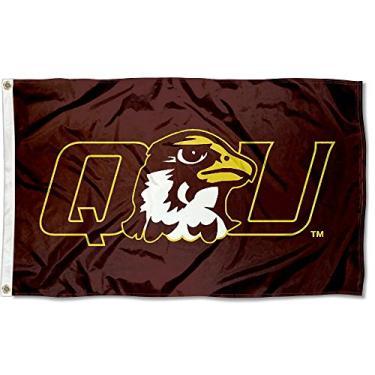 Bandeira da faculdade QU Hawks