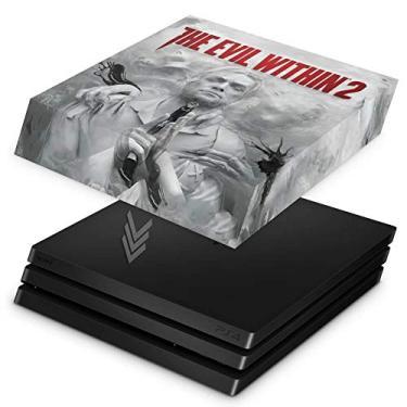 Capa Anti Poeira para PS4 Pro - The Evil Within 2