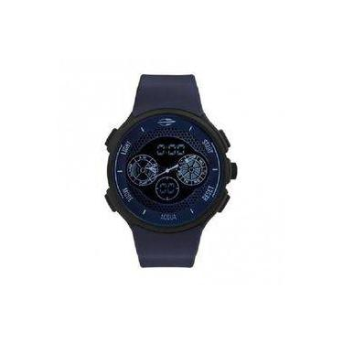0270b15f9eb Relógio Mormaii Masculino Acqua Mo1608b 8c Azul Anadigi