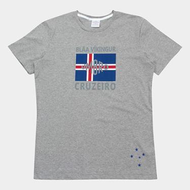 Camiseta Cruzeiro Blar Vikingur Torcedor Umbro Masculina - Masculino 0887f73a4aca6