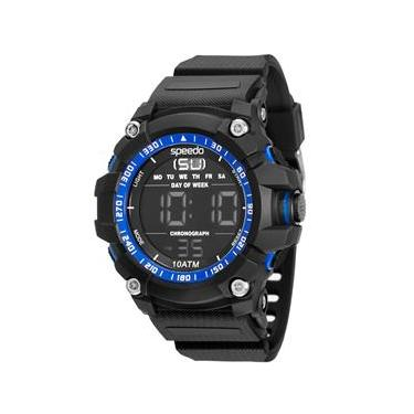 38784f16041 Relógio Masculino Digital Speedo 81140G0EVNP1 - Preto