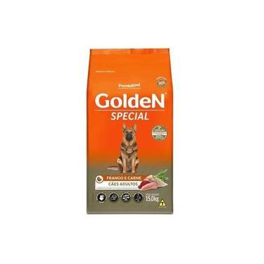 Ração Golden Special p/ Cães Adultos Carne & Frango 15Kg