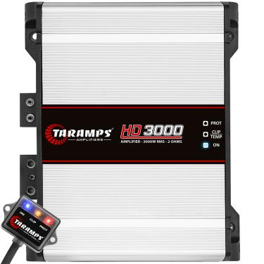 Módulo Taramps Hd 3000 3000w Amplificador Automotivo Módulo Taramps Hd 3000 3000w 2 Ohms Amplificador Automotivo