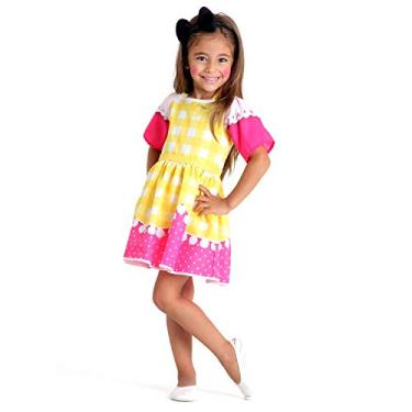 Imagem de Sulamericana Fantasias Lalaloopsy Pop - Crumbs Sugar Cookie , P-4, Amarelo/Rosa