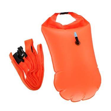 BESPORTBLE Nadar Bóia Bóia de Segurança Natação Bolha para Nadadores de Águas Abertas Triatletas Canoístas Mergulhadores