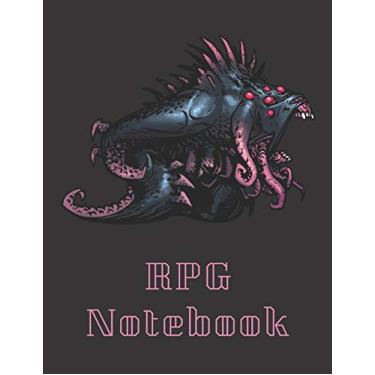 """RPG Notebook: Eldritch Horror Darkest Dungeon Edition - Mixed paper: Hexagon, Dot Graph, Dot Paper, Pitman: For role playi ng gamers: Notes, tracking, ... plans (8.5"""" x 11"""" - A4 Size, 150 Pages)"""