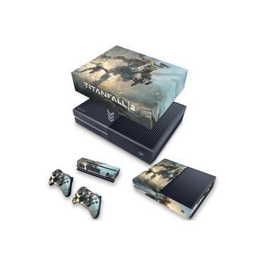 Capa Anti Poeira e Skin para Xbox One Fat - Titanfall 2