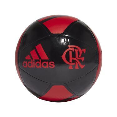 Bola Futebol Campo Adidas Flamengo GN3058, Cor: Preto/Vermelho, Tamanho: 5