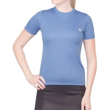 Blusa Esportiva Camiseta Azul  69e5a39566ec2