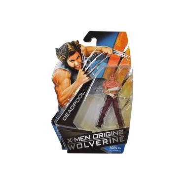 Marvel X-men Origins Wolverine - Deadpool Sem Camisa Versão Do Filme - 10 Cm - Hasbro