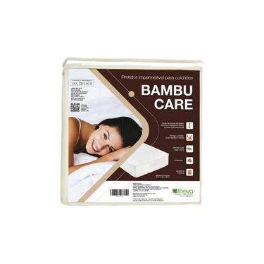 Imagem de Protetor Impermeável para Colchão Bambu Care, Theva, Solteirão 097 x 203 cm