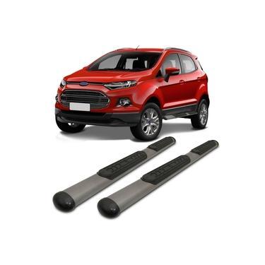 Estribo Lateral VF Ford Ecosport 12 13 14 15 16 17 18 19 20 Oblongo Oval Grafite Modelo Original