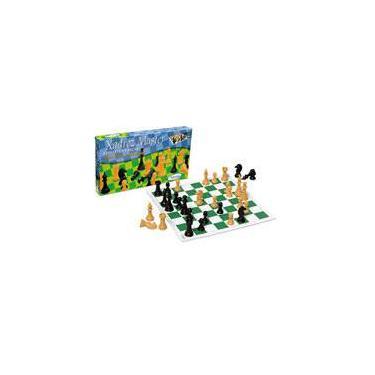 Xadrez Master Tabuleiro em Couro Sintético - Xalingo
