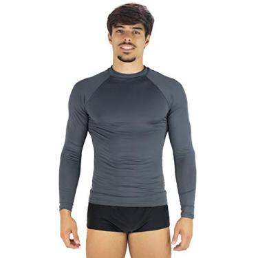 Camisa Mvb Modas Térmica Masculina Segunda Pele Proteção Uv 50+