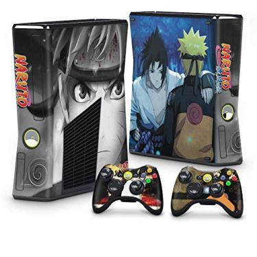 Skin Adesivo para Xbox 360 Slim - Naruto
