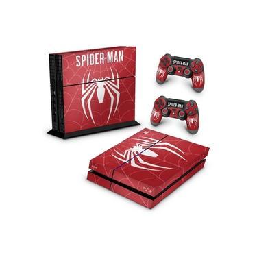 Skin Adesivo para PS4 Fat - Spider-Man Bundle #D