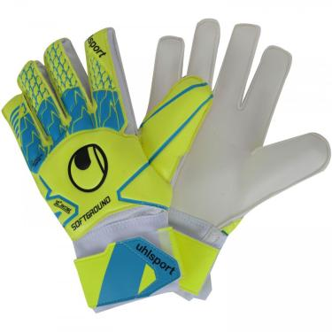 Luvas de Goleiro Uhlsport Soft Advanced - Adulto Uhlsport Masculino