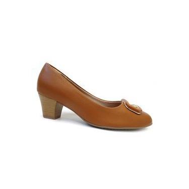 Sapato Feminino Conforto 111060 - Piccadilly (24A) - Amendoa