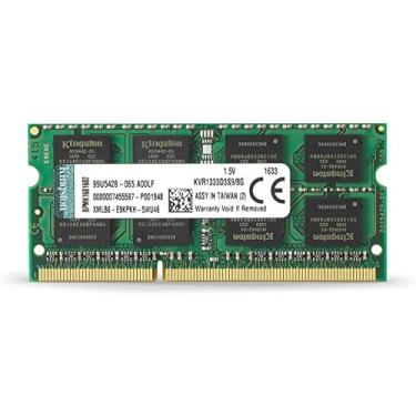 Memória para Notebook DDR3 8GB 1333MHz Kingston (KVR1333D3S9/8G)