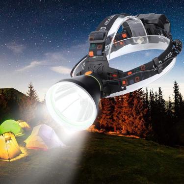 Imagem de Lanterna de cabeça Farolim, abajur de plástico à prova d'água ao ar livre, para pesca noturna, caça, caminhada, ciclismo, acampamento(k78 headlight)