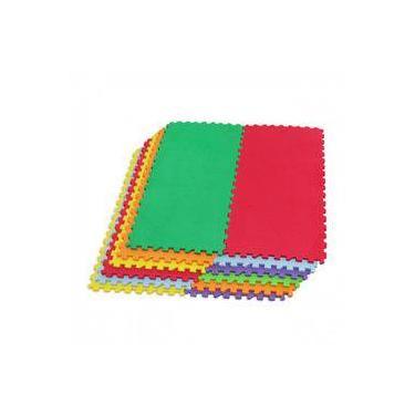 848efd4611e Tatame Tapete Infantil Colorido Em Eva 12 Pecas Evamax