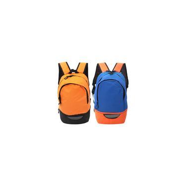 Mochila esportiva, mochila de poliéster ao ar livre, mochila ao ar livre, grande capacidade resistente com malha respirável para estudantes homens mul