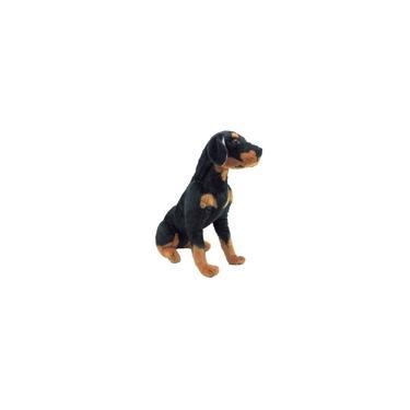 Imagem de Cachorro De Pelúcia Rottweiler 45 Cm Parece Real Antialérgic