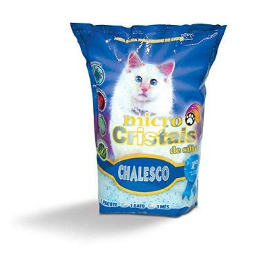 Micro Cristais de Silica para Gatos, Chalesco