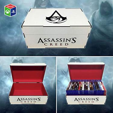 Porta jogos para PS3/PS4/Xbox One Assassins Creed Origins