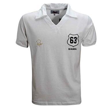 Camisa Liga Retrô Pepe 1963 (Ex-jogador do Santos e Brasil)