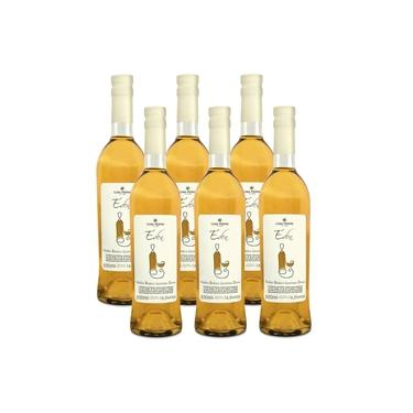 Kit 06 Unidades Vinho Licoroso Casa Perini Éden 500ml