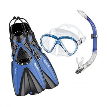Kit de Mergulho Mares X-One Marea - Azul - SM