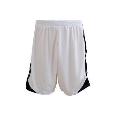 Calção Futebol Play Fair Liverpool Microfibra Branco Preto b90269ca46931